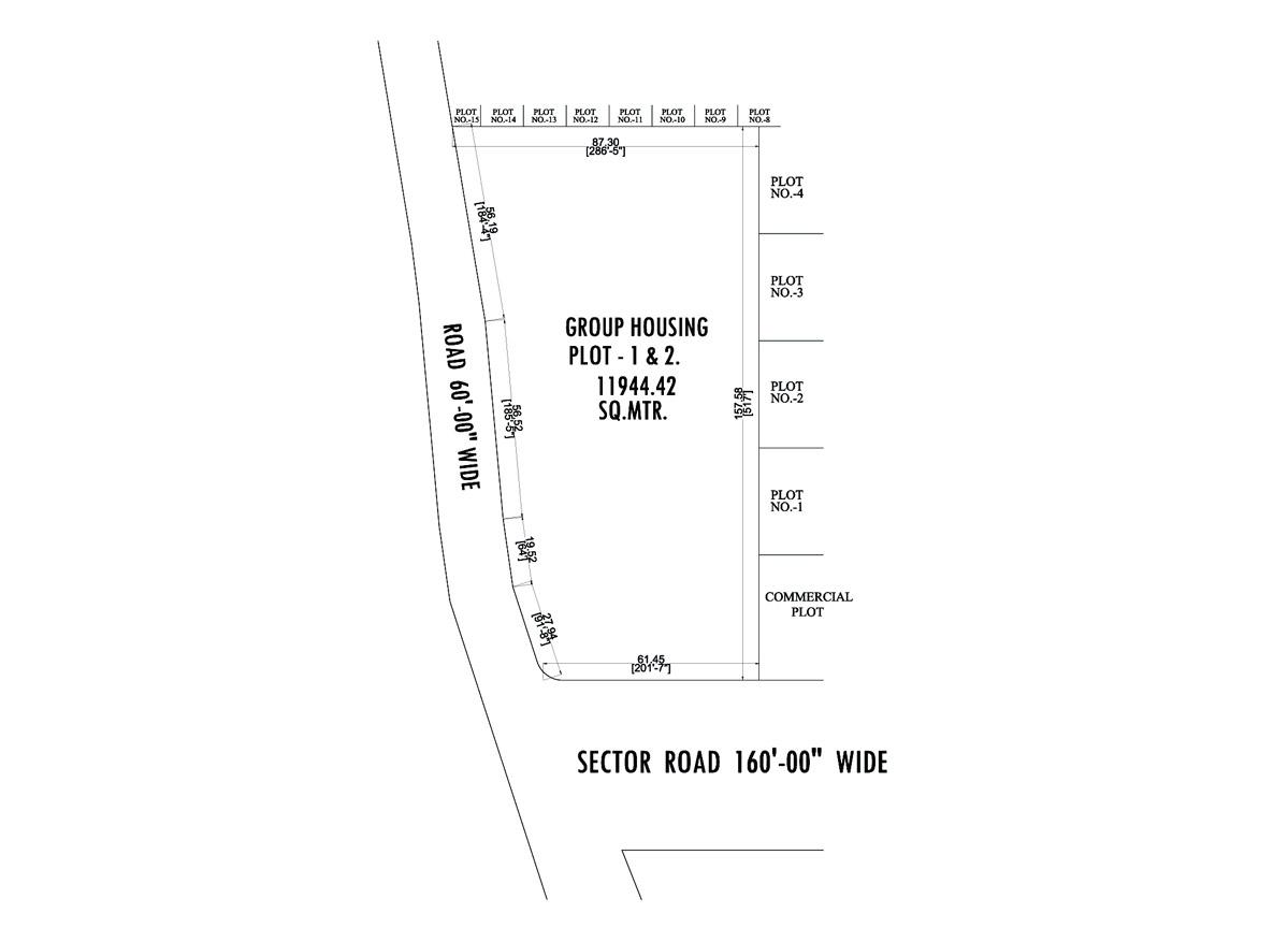 Manglam Green Bikaner-plot-layout