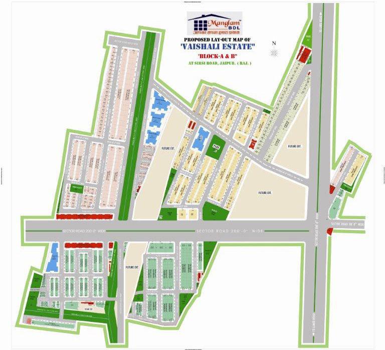 Vaishali Estate-layour-plan