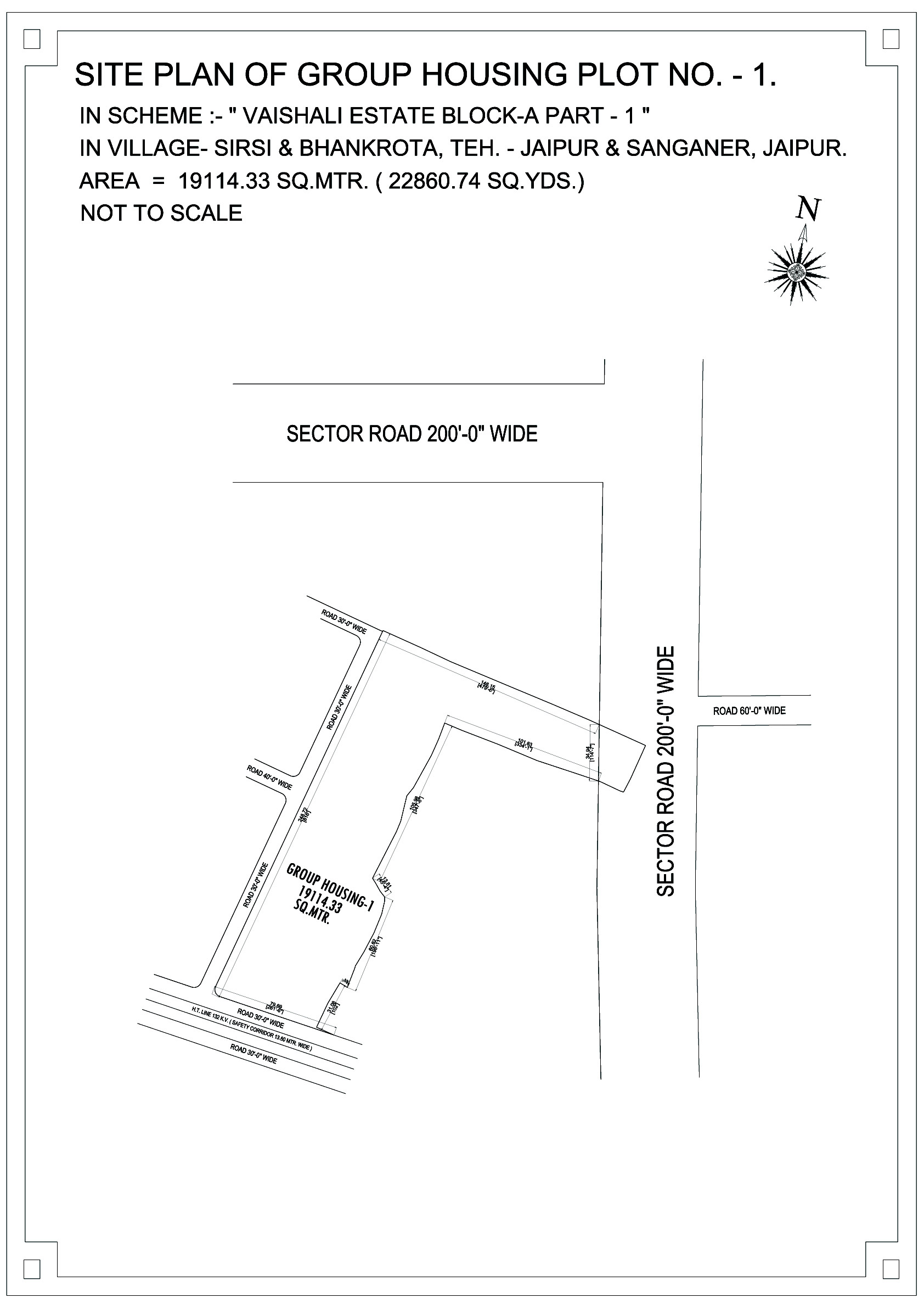 Vaishali Estate-plot-layout